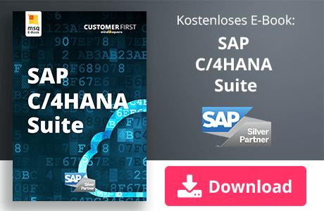 Unser E-Book zum Thema SAP C/4HANA Suite