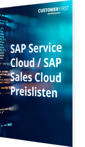 SAP Service Cloud / SAP Sales Cloud Preislisten