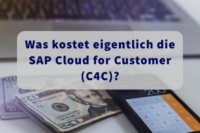Was kostet die SAP Cloud for Customer (C4C) Lizenz Beitragsbild