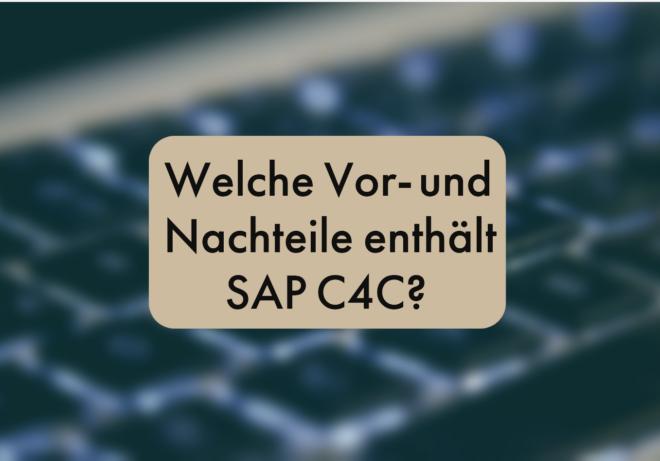 SAP C4C